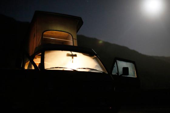 Vanagonキャンプ